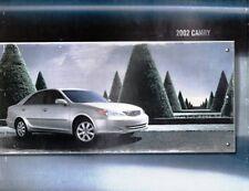 2002 02 Toyota Camry  oiginal sales brochure