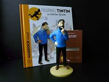 """LARGE 5"""" TINTIN FIGURINE """"OFFICIAL COLLECTION"""" # M02 HADDOCK SCEPTICAL"""