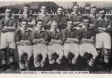 MAN UTD FOOTBALL TEAM PHOTO>1933-34 SEASON