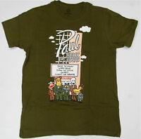 Paul Frank T Shirt The Paul Frank Las Vegas Olive 100% Cotton