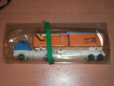 VINTAGE 80'S GREEK PLASTIC TOY TRUCK MIB