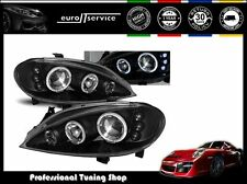 FARI ANTERIORI HEADLIGHTS LPRE10 RENAULT MEGANE 1999 2000 2001 2002 ANGEL EYES