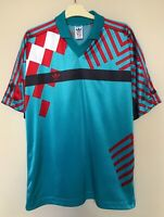 VINTAGE ADIDAS JERSEY SHIRT STYLE TEMPLATE FOOTBALL MADE IN JUGOSLAVIA TRIKOT