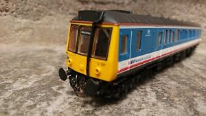 """OO LIMA L127 DMU BR """"Bletchley"""" Grey/Blue Locomotive in Good Working Condition!"""