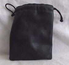 "Soft Lens Pouch Camera Case/Storage Bag: 3X3X5.5"" Drawstring"