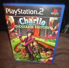 CHARLIE E LA FABBRICA DI CIOCCOLATO PS2 GIOCO