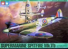 Tamiya 61033 1/48 Model Kit British Royal Air Force Supermarine Spitfire Mk.Vb