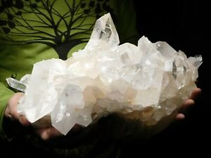 A GIANT 100% Natural Quartz Crystal Cluster From Arkansas 8560gr