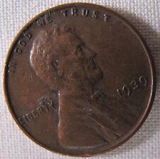 1939 Lincoln Wheat Ears Cent Penny whotoldya Lot 42704OP