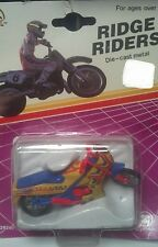 Kawasaki DRAG PRO Racing Bike Ridge Riders Zee Toys Blister Motorcycle NIP NEW
