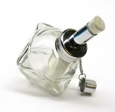 """Alcohol Lamp Burner Faceted With 1/2"""" Wick Spirit Lamp for Jewelry - Dental Lab"""
