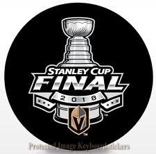 Vegas Golden Knights NHL 2018 Stanley Cup Final Lock-Up Souvenir Hockey Puck