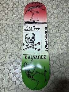 "Chocolate Vincent Alvarez Skateboard Deck 8.25"" New"