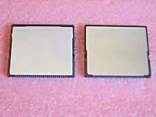 LOT TWO 1GB Compact Flash Card for Roland Boss BR600 BR864 BR900CD