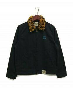 Gallery Dept. Leopard Collar Workwear Jacket – Small