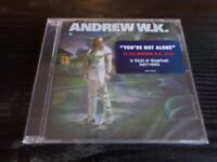 ANDREW WK - Youre Not Alone CD