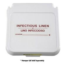 Hamper Label, Infectious Linen - Red Lettering, pack of 5 Model Number 602Il
