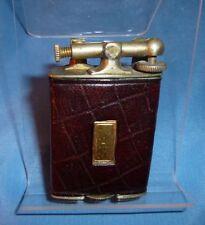 "Vintage CLARK ""Always Works"" 18K Electro Plate Art Deco Lift Arm Lighter c.1926"