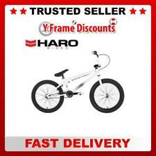 "HARO 100.1 Freestyle BMX Bike 20.3"" Top Tube in Gloss White RRP £284.95"