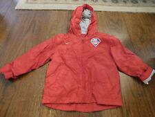 NIKE PHILADELPHIA PHILLIES Toddler Windbreaker Lined Red Embroidered Jacket EUC