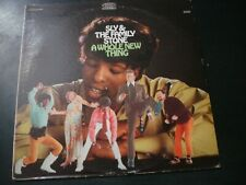 SLY AND & THE FAMILY STONE A WHOLE NEW THING LP RECORD