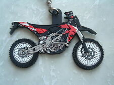 APRILIA APRILLIA RXV SXV 450 SXV450 RXV450 RED BLACK KEYRING RUBBER LTD NUMBERS