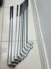 Callaway Golf x-14 Steelhead golf iron set, 3-Sw,Pw callaway firm  flex shaft