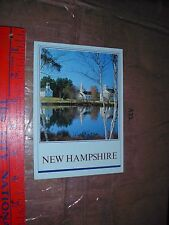 Three Churches Town Center Lily Pad Marlow NH lake pond fall color mill property