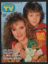 SORRISI 10/1986 LENA BIOLCATI CARRA' WARD TROISI MADONNA SHANGAI SURPRISE BERTE'