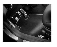 Original MINI Velours-Fussmatten-Set R56 R55 R57 LHD schwarz NEU 51470441798