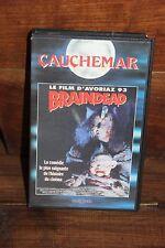 VHS - BRAINDEAD - Avoriaz 93 - Cauchemar - Peter Jackson