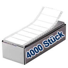 4000 Stück Endlosetiketten - ETIKETTEN - AUFKLEBER, einbahnig, 88,9 x 35,7 mm