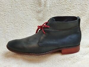 Cole Haan mens Comfort Boots Leather dark Grey UK 9.5 EUR 43.5
