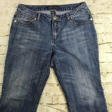 b357ef8cfe3 Womens Baccini Relaxed Straight Leg Blue Jeans