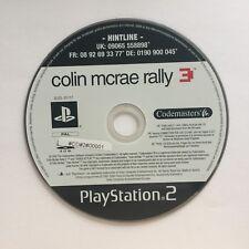 Ps2 Colin McRae Rally 3 solo CD SONY PLAYSTATION 2 #cd#2#00001