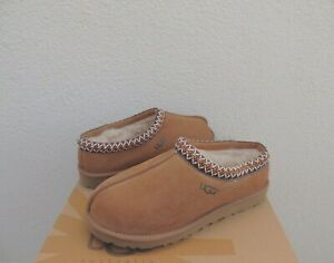 UGG TASMAN CHESTNUT SUEDE/ SHEEPSKIN SLIPPERS/ SHOES, WOMEN US 10/ EUR 41 ~ NIB