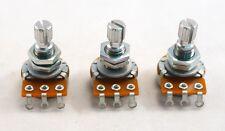 -Set of 3-Gotoh Mini Pot - Metric shaft - 25 k ohm - For active electronics