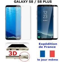 VERRE Trempé Samsung GALAXY S8 / S8  PLUS Vitre Protection Ecran Intégrale 3D