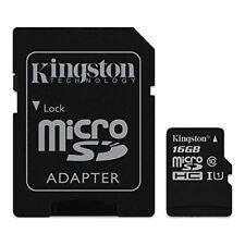 Cartes mémoire Kingston microsd pour téléphone mobile et assistant personnel (PDA), 16 Go