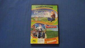 Charlotte's Web/Barnyard Dakota Fanning - DVD - R4 - Free Postage