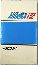 6pc 1970-71 Aurora 1/32 A-Jet Big Slot Car TRESTLE BRIDGE SUPPORT SET #3332 MIB
