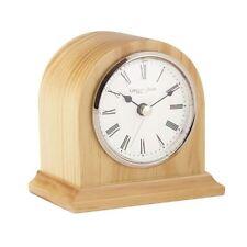 London Clock Co 12cm legno chiaro Arch Top mantel clock