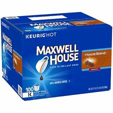 Maxwell House, House Blend Coffee (100 K-Cups)  Free Shipping - New