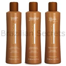 BRASIL CACAU BRAZILIAN KERATIN TREATMENT BLOW DRY HAIR STRAIGHTENING 300ml KIT