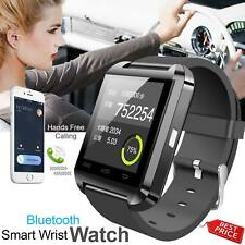 New Bluetooth Smart Watch Phone Wrist watch for Android iOS iphone Sports UK