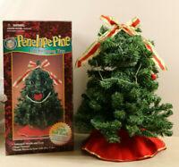 Gemmy Penelope Pine Dancing Talking Singing Christmas Tree Animated