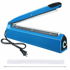 Build-in Copper Transformer,Blue Konmee 8 inches Impulse Bag Sealer Heat Sealing Machine with Iron Body
