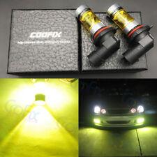 NEW 2x 9005 H10 9145 4000K Yellow 100W CREE Headlight Bulbs Kit LED Fog Light