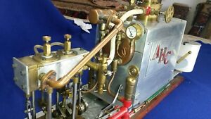 Large Model Marine Steam Engine Plant.
