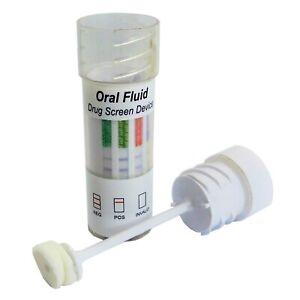 5 x Saliva Drug Test Kit - 7 Drugs Cannabis, Cocaine, Speed, Heroin & More